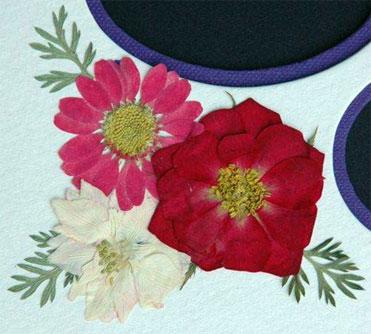 Custom Mat Flowers
