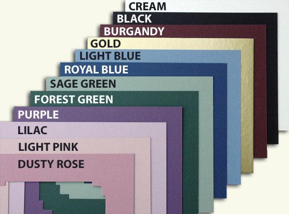 Custom Mat Colors