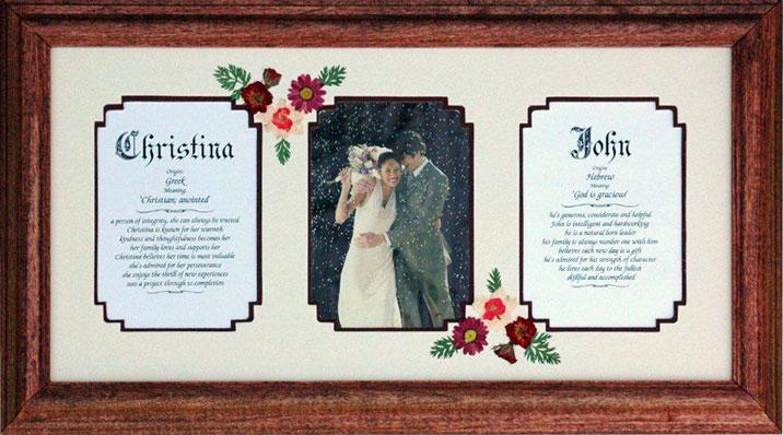 Triple Window Wedding Mats